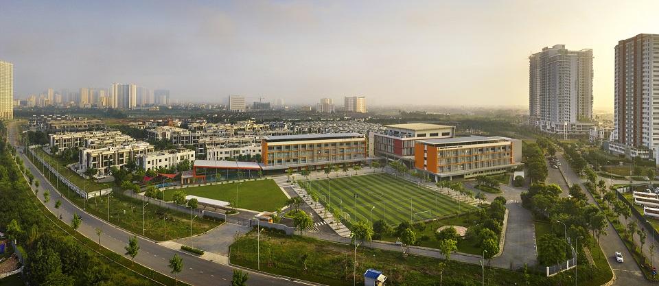 Trường học quốc tế trong khu đô thị gamuda gardens