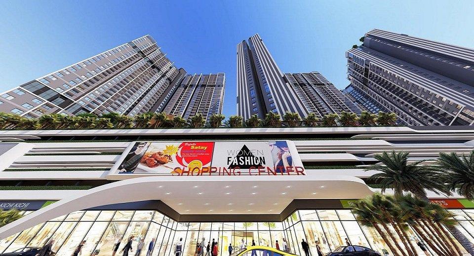 Kiến trúc Chung cư Central Gamuda