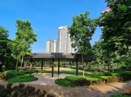 Không gian sống xanh chung cư Gamuda